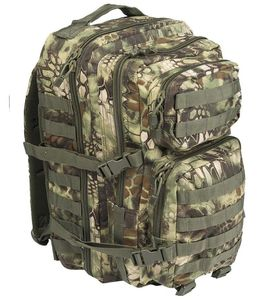 Mil-Tec US Assault Reppu 36L, MANDRA® Wood
