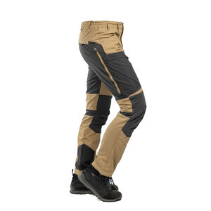 Arrak Outdoor Active Stretch Miesten Retkeilyhousut, Khaki