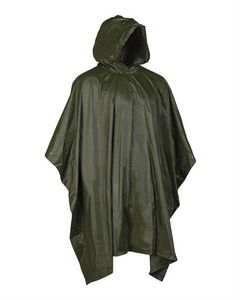 Mil-Tec OD Wet Weather Poncho Oliivi
