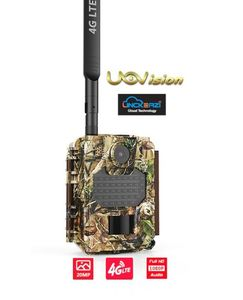 Uovision Compact 4G LTE Cloud 20MP Full HD Riistakamera