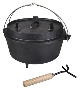 Valurautapata Dutch Oven 12""