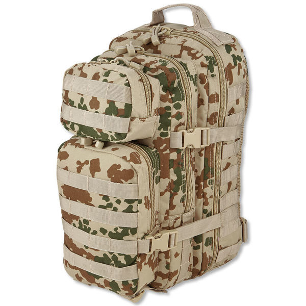 Mil-Tec US Assault Reppu 20L Tropical Camo